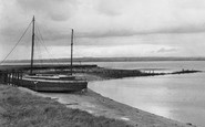 Burgh-By-Sands, Towards Scotland Across The Solway Firth c.1950