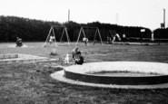 Burgh Castle, Cherry Farm Caravan Park, Children In The Playground