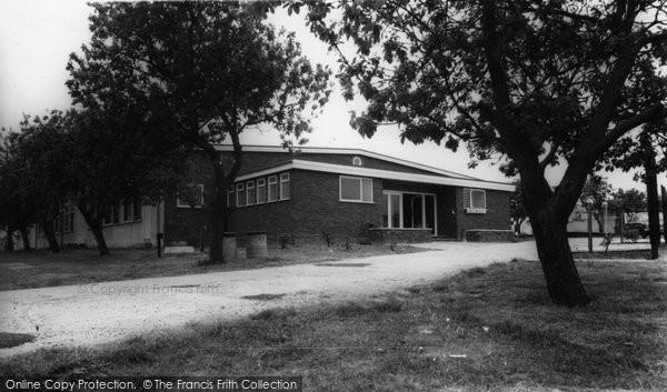 Burgh Castle, Dance Hall, Cherry Farm Caravan Park c.1965