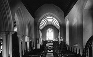 Burgh Castle, The Nave, St Peter's Church c.1931
