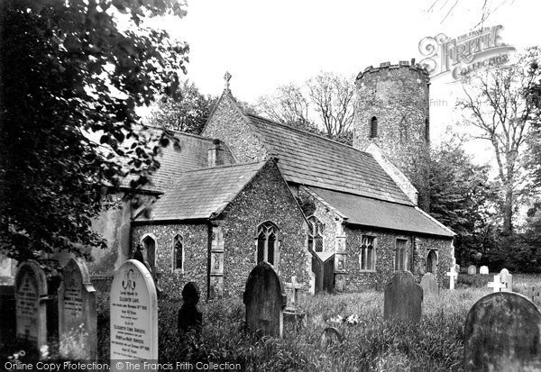 Burgh Castle, The Parish Church Of St Peter c.1955