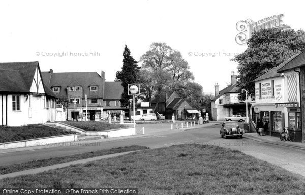 Burgh Heath, Reigate Road c.1960