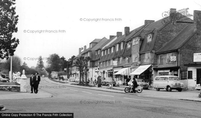 Burgh Heath, The Parade 1959