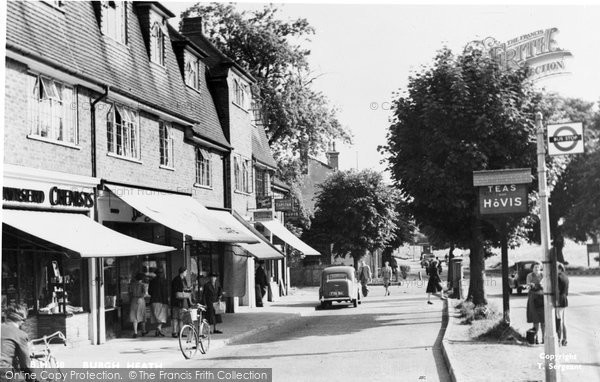 Burgh Heath, The Parade c.1955
