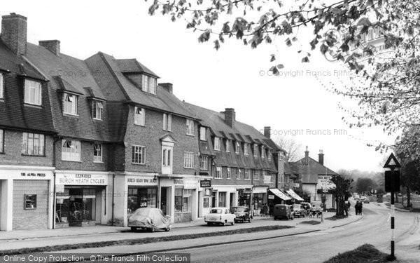 Burgh Heath, The Parade c.1960
