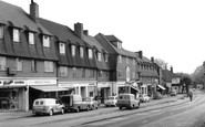 Burgh Heath, the Parade c1960