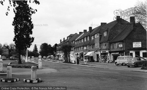Burgh Heath, The Parade c.1960
