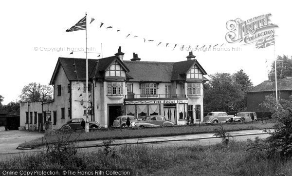 Photo of Burgh Heath, the Sugar Bowl c1955