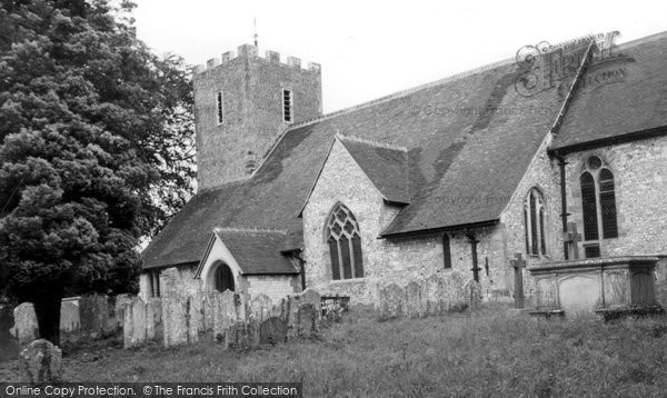 Buriton, St Mary's Church c.1960