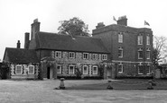 Buriton, The Manor House c.1960