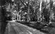 Burley, Bistern Close c.1960