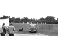 Burley, Cricket Pitch c.1955
