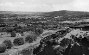 Burley In Wharfedale, From Burley Woodhead c.1960
