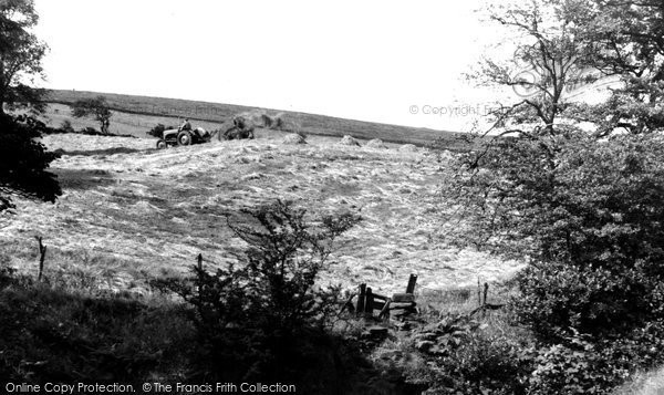 Burley In Wharfedale, Path To The Moors c.1955