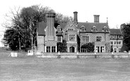 Burley, the Manor Hotel c1960