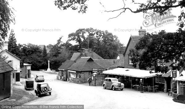 Burley, The Village c.1950