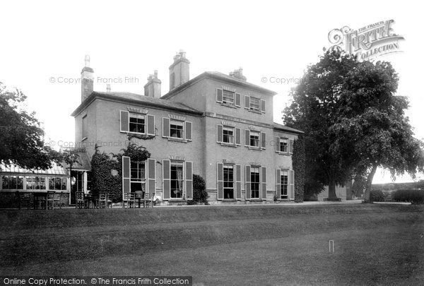 Burneston, Burneston Hall 1900
