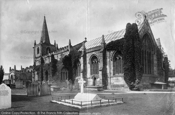 Burneston, St Lambert's Church 1900