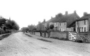 Burneston, The Village 1900