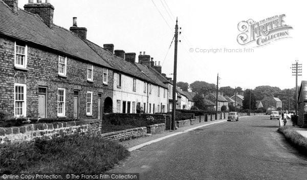 Burneston, The Village c.1960