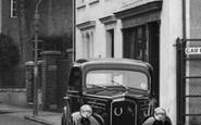 Burnham, Ford Anglia Car c.1955