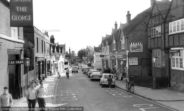Burnham, High Street 1968