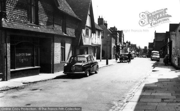 Burnham, High Street c.1960