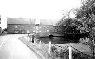 Burnham Market, Everetts Mill Bridge c.1955