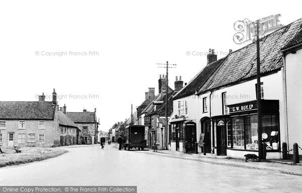 Burnham Market, The Village c.1955