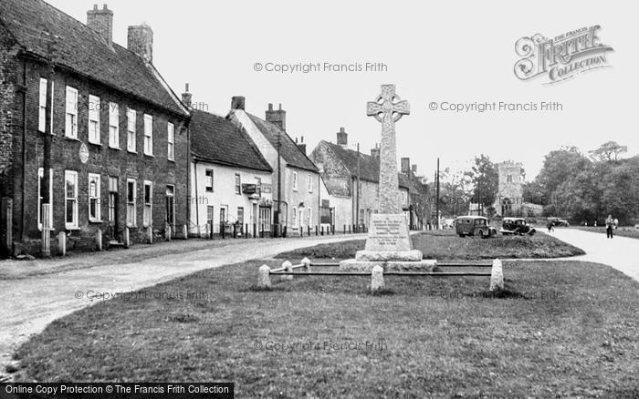 Burnham Market, The Village c.1955