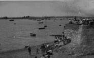 Burnham-On-Crouch, Beach Scene c.1955