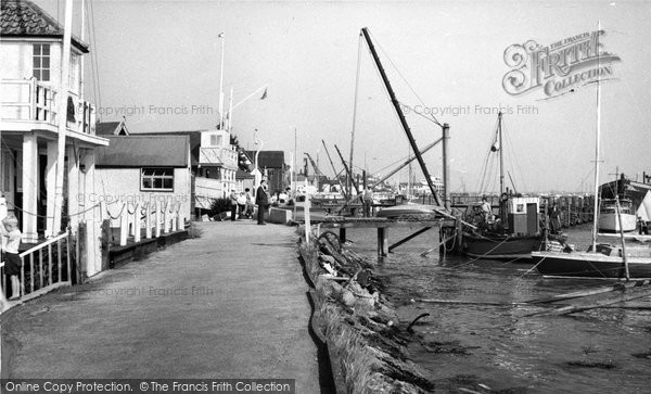 Burnham On Crouch, Burnham Sailing Club And Crouch Yacht Club c.1960
