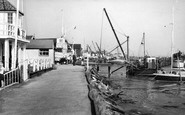 Burnham-On-Crouch, Burnham Sailing Club And Crouch Yacht Club c.1960