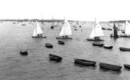 Burnham-On-Crouch, Catamarans Racing c.1958