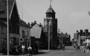 Burnham-On-Crouch, High Street And Clock Tower c.1950