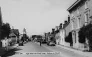 Burnham-On-Crouch, High Street And Clock Tower c.1960