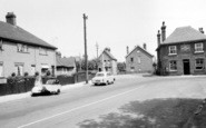 Burnham-On-Crouch, High Street And The Victoria Inn c.1960