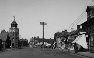Burnham-On-Crouch, High Street c.1955