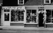Burnham-On-Crouch, High Street Gift Shops c.1965