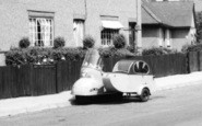 Burnham-On-Crouch, Motorscooter And Sidecar c.1960