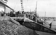 Burnham-On-Crouch, Royal Burnham Yacht Club Landing Stage c.1958
