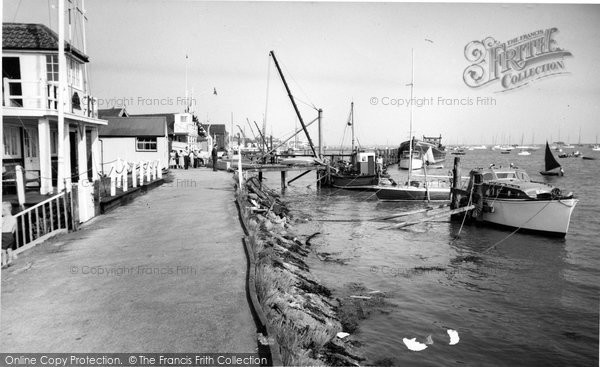 Burnham On Crouch, Sailing Club c.1960