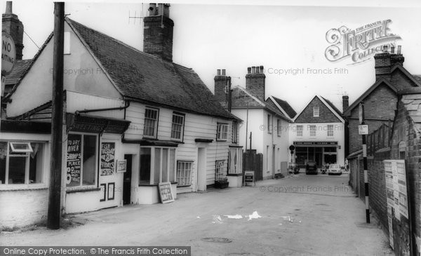 Burnham On Crouch, Shore Road c.1965