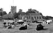 Burnham-On-Crouch, St Mary's Church c.1955
