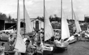 Burnham-On-Crouch, The Dinghy Park c.1960