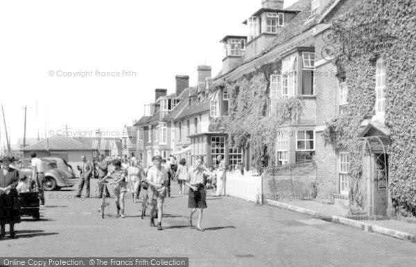 Burnham On Crouch, The Quay c.1955