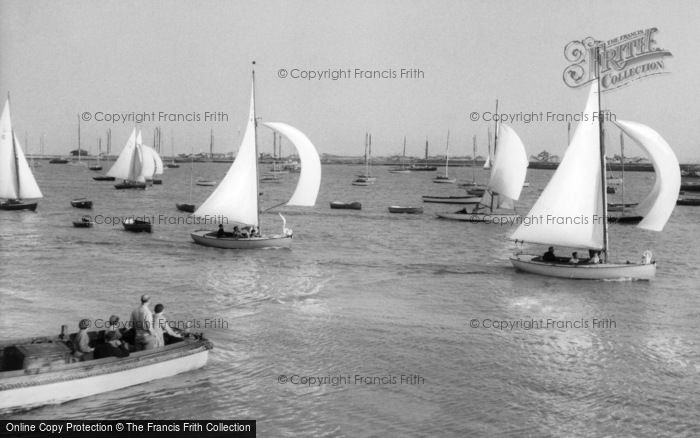 Burnham On Crouch, The River c.1965