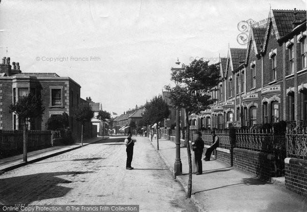 Burnham On Sea, Alfred Street 1892