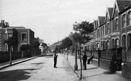 Burnham-On-Sea, Alfred Street 1892