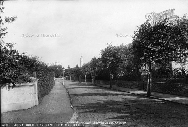 Burnham On Sea, Berrow Road 1903